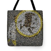 Washington Redskins Coins Mosaic Tote Bag