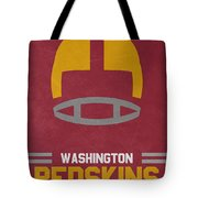 Washington Redskins Vintage Art Tote Bag