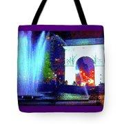 Washington Square Fountain 13c Tote Bag