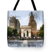 Washington Square Park Greenwich Village New York City Tote Bag
