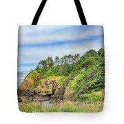 Washington State Coastline Tote Bag