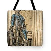 Washington Statue - Federal Hall  #1 Tote Bag