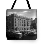 Washington Water Power Post Street Station - Spokane Washington Tote Bag by Daniel Hagerman