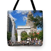 Washingtone Square New York Tote Bag