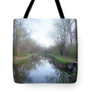 Washingtons Crossing - Along The Delaware Canal Tote Bag