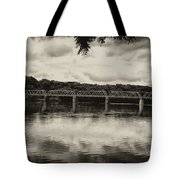Washingtons Crossing Bridge Tote Bag