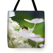 Wasp At Work Tote Bag