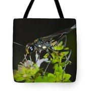 Wasp Visit Tote Bag
