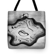 Wasted Time Bw Tote Bag