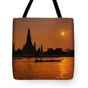 Wat Anun Temple Tote Bag