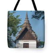 Wat Jed Yod Phra Ubosot Dthcm0967 Tote Bag