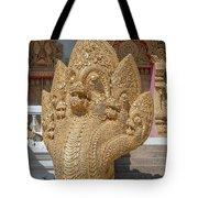 Wat Kumpa Pradit Phra Wihan Five-headed Naga Dthcm1664 Tote Bag