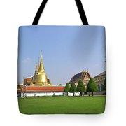 Wat Po Bangkok Thailand 37 Tote Bag