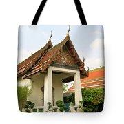 Wat Po Bangkok Thailand 39 Tote Bag
