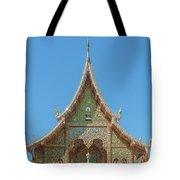 Wat Suan Prig Phra Wihan Gable Dthcm2391 Tote Bag