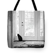 Watch Cat Tote Bag