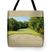 Watch For Water On Road Tote Bag