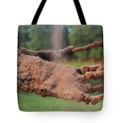 Watch Me Go Video Still Catching Sand Tote Bag
