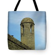 Watch Tower On The Castillo Tote Bag