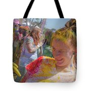 Watch Your Eyes Tote Bag