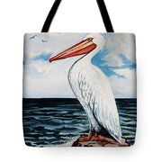 Watcher Of The Sea Tote Bag