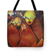 Watchers  Tote Bag