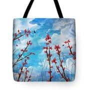 Watching Clouds Go By Tote Bag