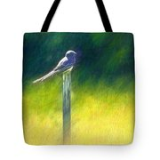 Watching For Supper Tote Bag
