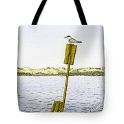 Watching From Number 2 Tote Bag
