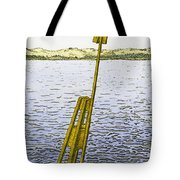 Watching From Number 2 Tote Bag by Charles Harden