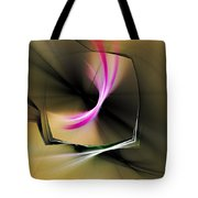 Watching In Silence Tote Bag