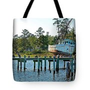 Watching Morning Star Tote Bag