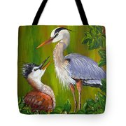 Watching Over Junior Tote Bag