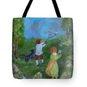 Watching Over The Children Tote Bag