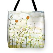 Watching The Clouds Go By No 2 Tote Bag by Jennifer Lommers