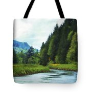 Watching The Days Go By Tote Bag