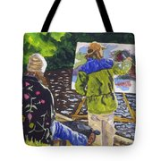 Watching The Maestro Tote Bag