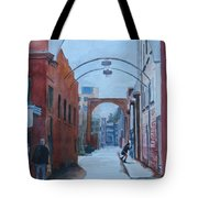 Watching The Photographer Tote Bag