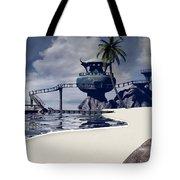 Watchtower Beach Tote Bag
