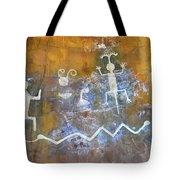 Watchtower Rock Art  Tote Bag