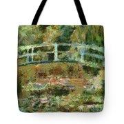 Waterlily Pond Tote Bag