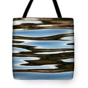 Water Abstract Okanagan Lake Tote Bag