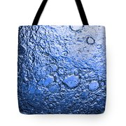 Water Abstraction - Blue Rain Tote Bag