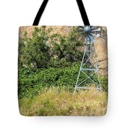 Water Aerating Windmill For Ponds And Lakes Tote Bag