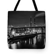 Water And Cement Tote Bag