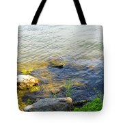 Water And Earth Tote Bag