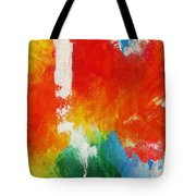 Water And Fire Tote Bag