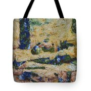 Water And River Delta  Tote Bag