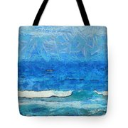 Water And Sky Tote Bag