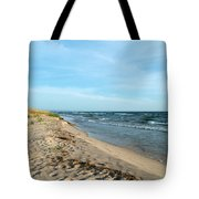 Water And The Beach Tote Bag